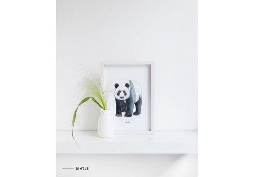 Meesie&Bintjes MEESIE&BINTJE - Poster A4 - Panda
