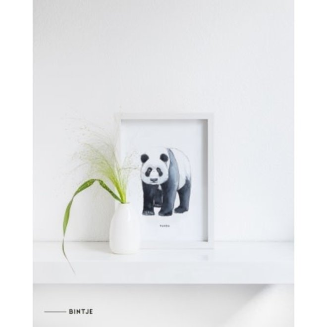 MEESIE&BINTJE - Poster A4 - Panda