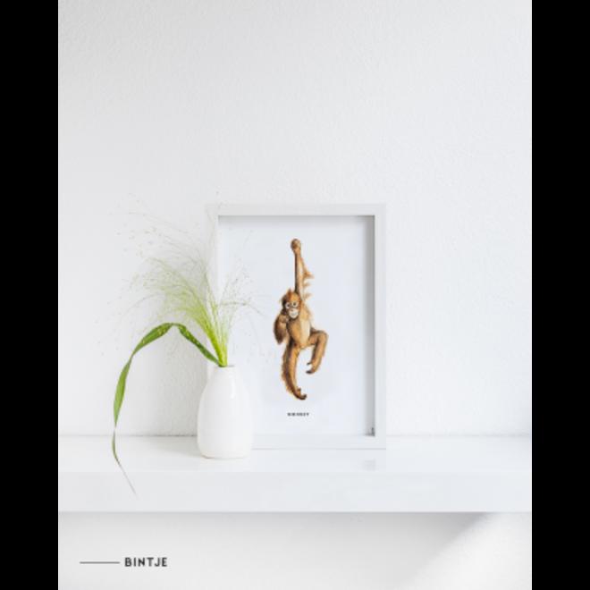 MEESIE&BINTJE - Poster A4 - Aap