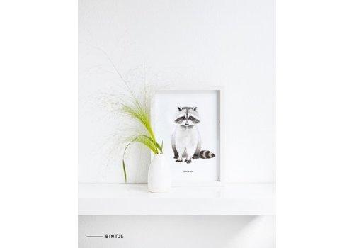 Meesie&Bintjes MEESIE&BINTJE - Poster A4 - Wasbeer
