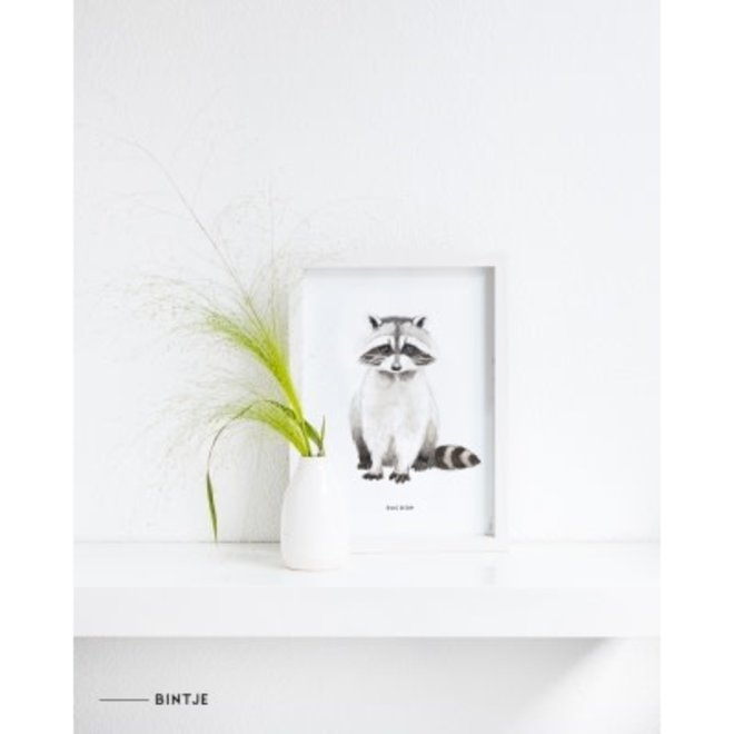 MEESIE&BINTJE - Poster A4 - Wasbeer