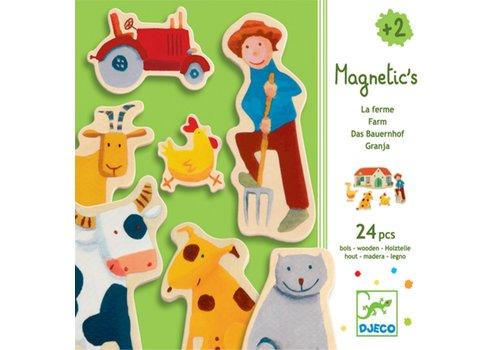 Djeco DJECO - Magneten - Boerderij 2+