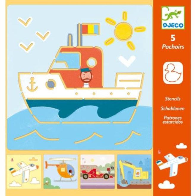 DJECO - Sjabloon - Transport 4+