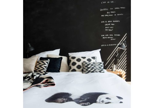 SNURK SNURK - Dekbedovertrek - Lazy Panda (één - of tweepersoonsbed)
