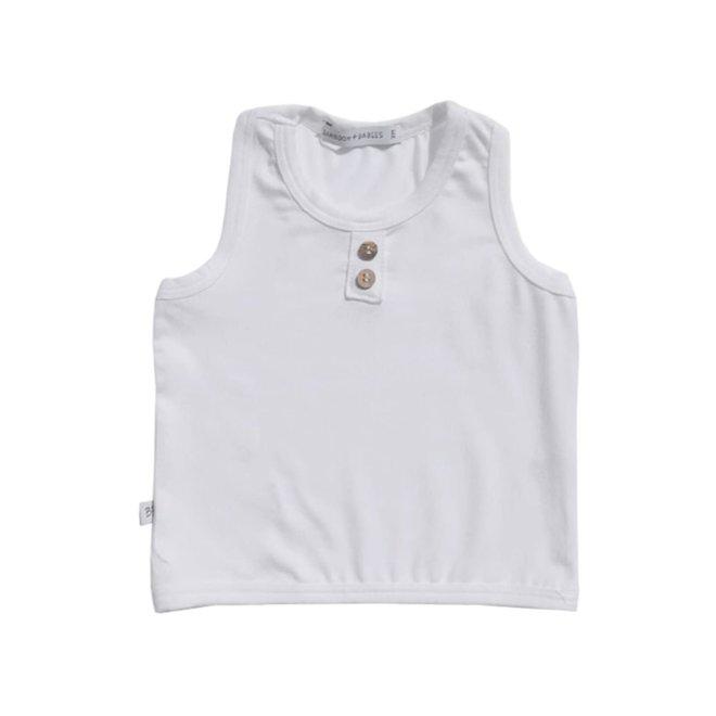 BAMBOOM - Top Sleeveless - White