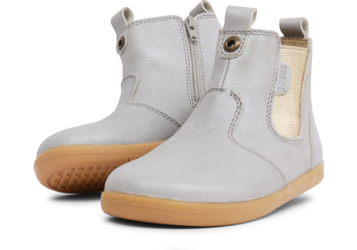 BOBUX BOBUX - Boots - Jodhpur I-walk Silver Shimmer