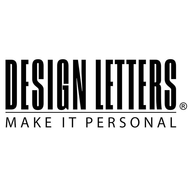 DESIGN LETTERS - drinkbeker - Letter K tot T