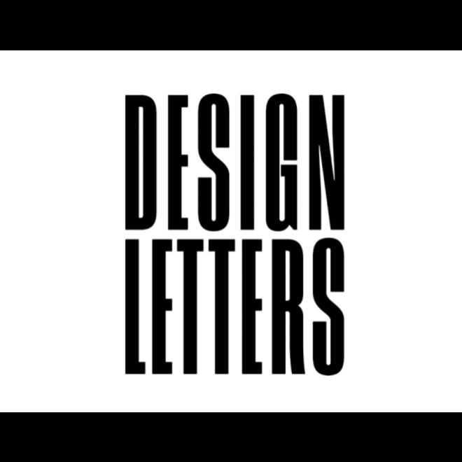 DESIGN LETTERS - drinkbeker - Letter U tot Z
