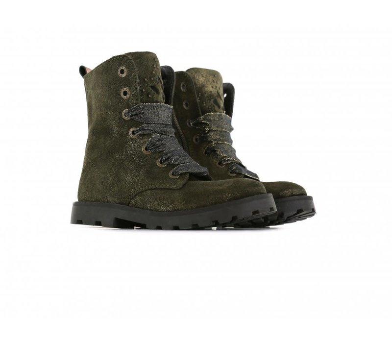 SHOESME - Boots - Tank Green