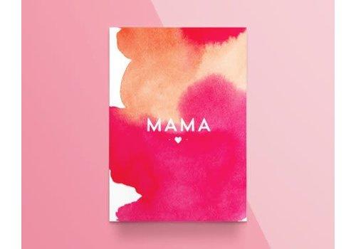 """Kathings Kathings - Postkaart - Colors """"Mama"""""""