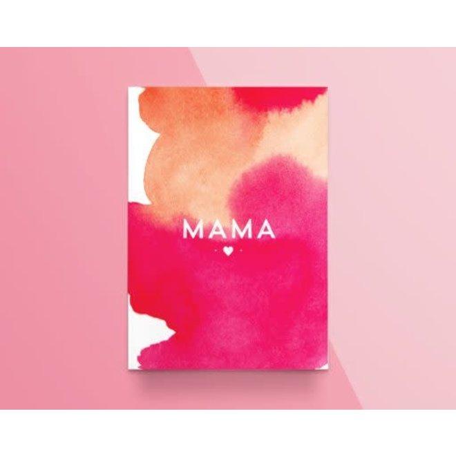 """Kathings - Postkaart - Colors """"Mama"""""""