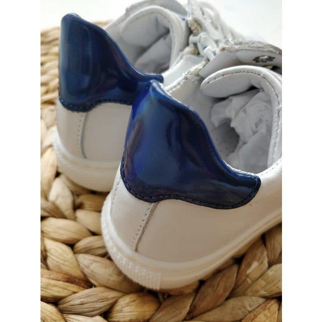CIAO - Sneakers - Wit met ster Blauw (Maat 22 tem 26)