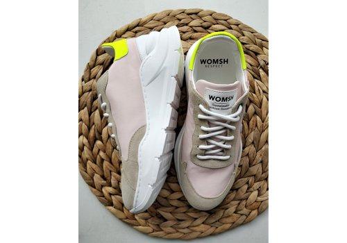 Womsh WOMSH - Vegan Sneakers - Wave Rose