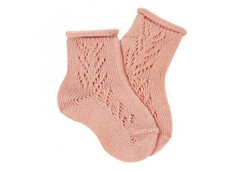 CONDOR CONDOR -  Korte Sokken met open patroon - Verschillende kleuren