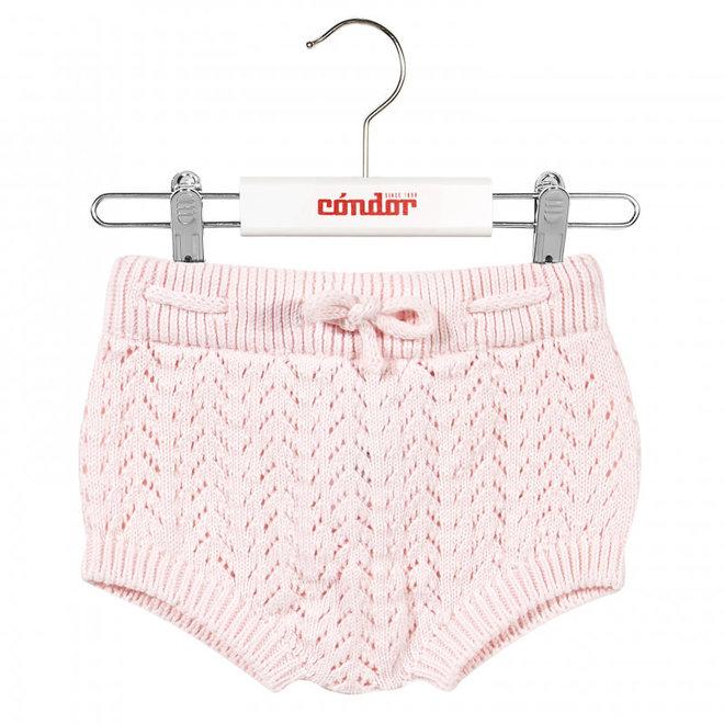 CONDOR - Bloomer Openwork met koordje - Baby Pink (500)