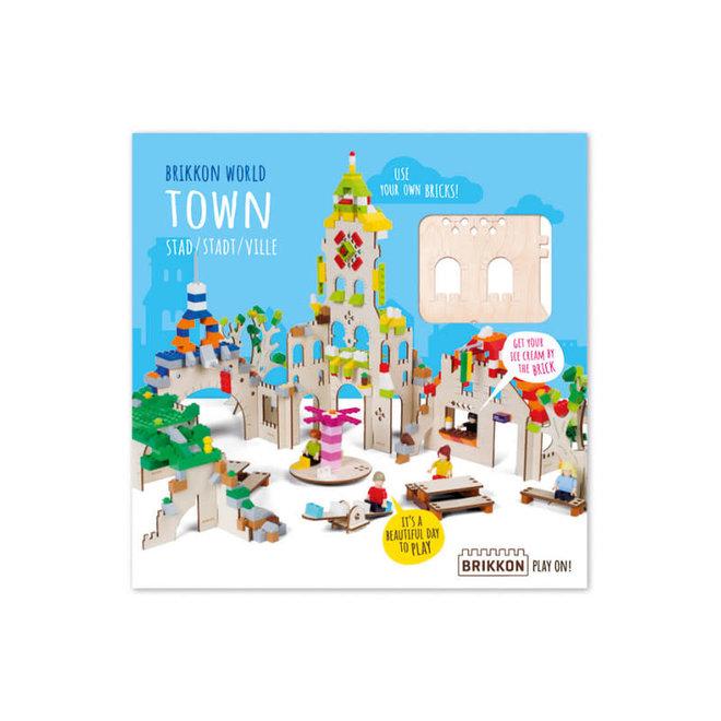BRIKKON - Creatief met Lego - Stad