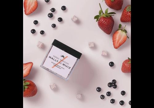 WallyandWhiz WALLY&WHIZ - Nordic Gourmet Vegan Gummies - Blackcurrant with Strawberry