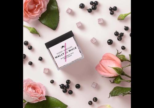 WallyandWhiz WALLY&WHIZ - Nordic Gourmet Vegan Gummies - Blackcurrant with Rose Leaves