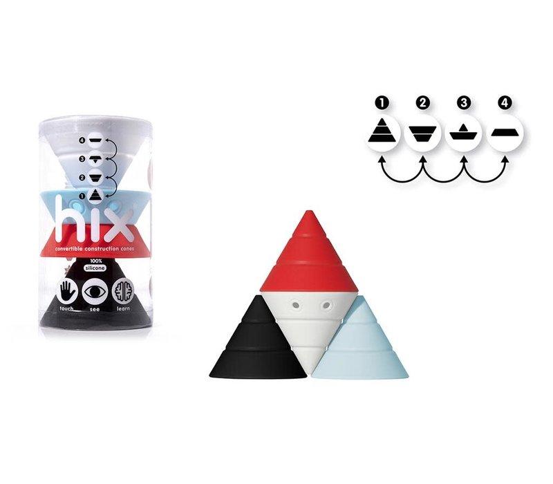 MOLUK - HIX - Wit/Rood/Blauw/Zwart