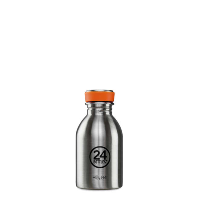 24°BOTTLES - Urban Bottle - Steel 250ml