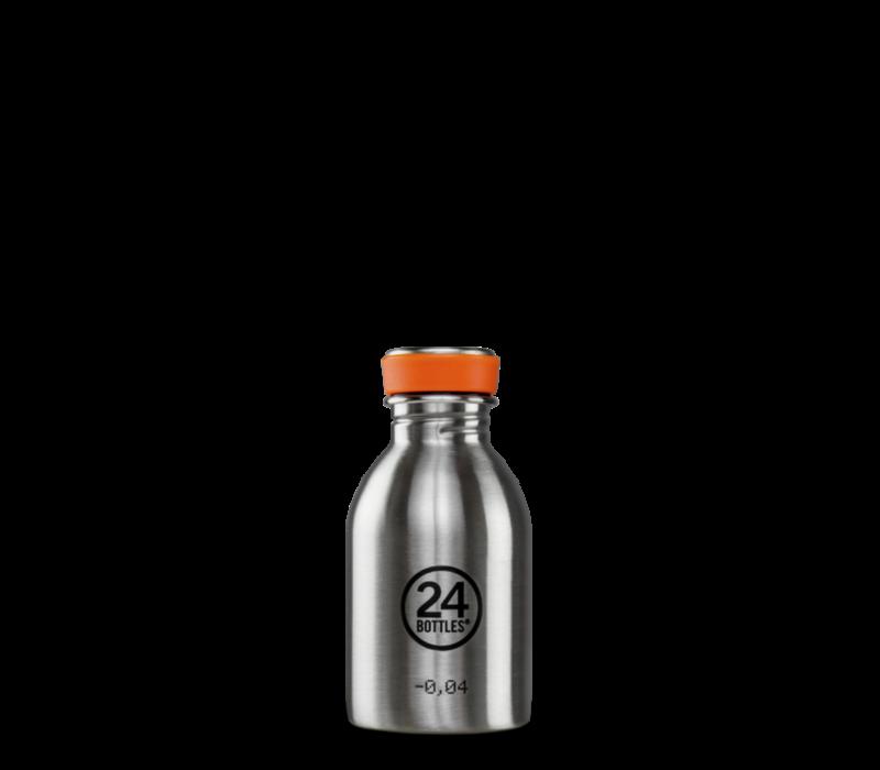 24°BOTTLES - Urban Bottle - Steel 250ml