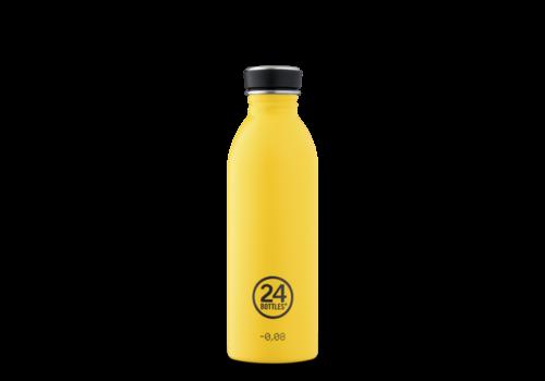 24°Bottles 24°BOTTLES - Urban Bottle - Yellow 500ml