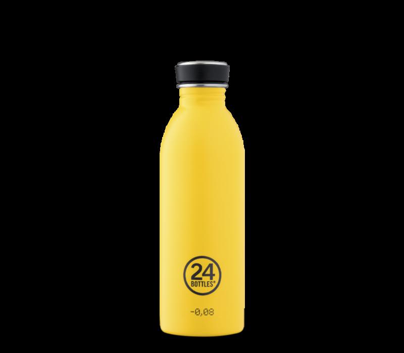 24°BOTTLES - Urban Bottle - Yellow 500ml