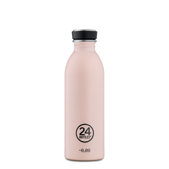 24°BOTTLES - Urban Bottle - Stone Dusty Pink 500ml