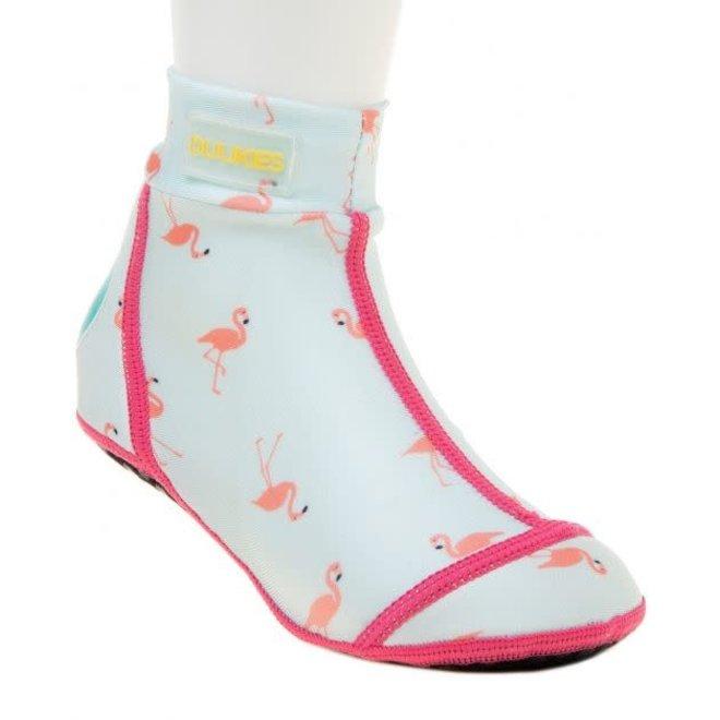 DUUKIES Beachsocks - Flamingo Mint