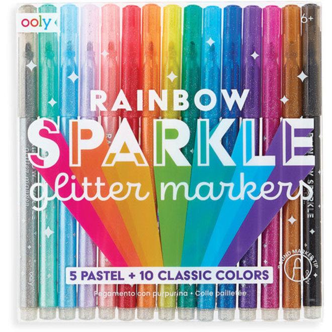OOLY -  Schrijfgerei - Rainbow Glitter Pennen