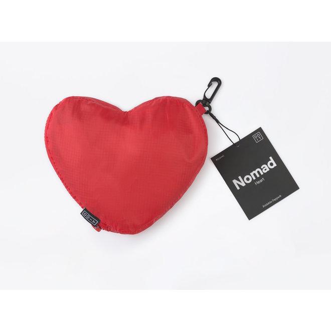 DOIY - Opvouwbare Rugzak - Rood/Heart