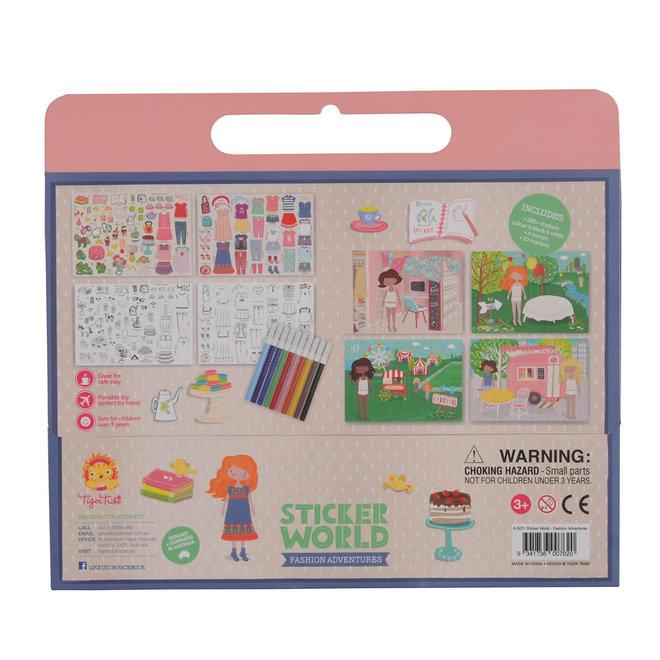 TIGER TRIBE - Creatief met Stickers  - Fashion