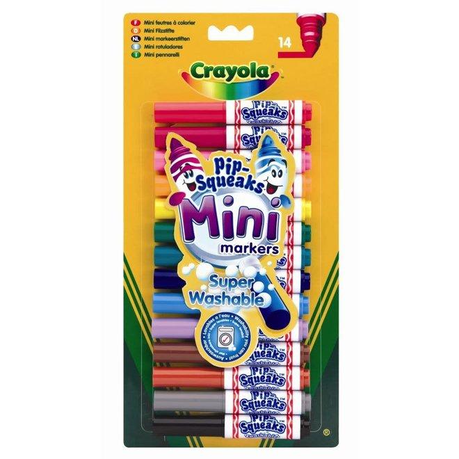 CRAYOLA - Viltstiften - Pip Squeaks Mini
