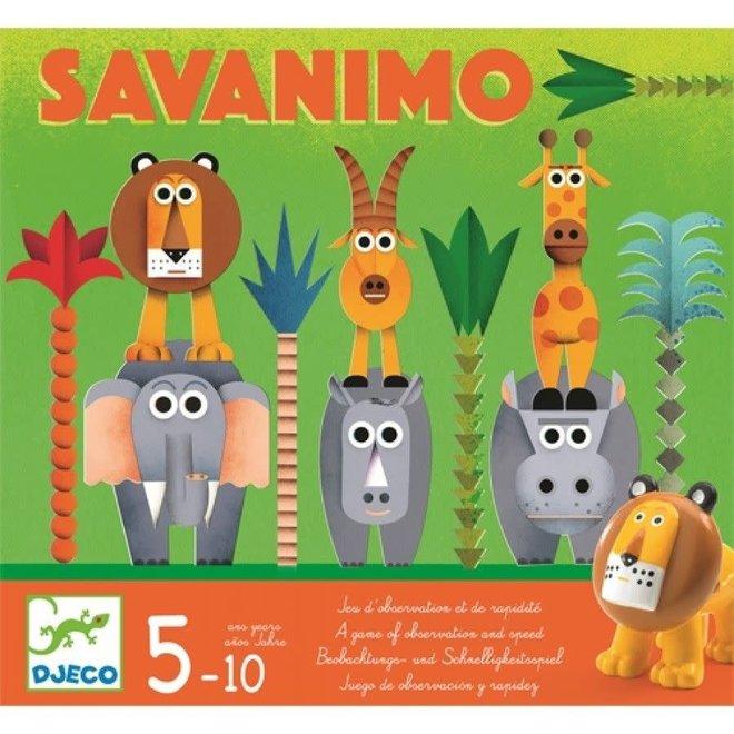 DJECO - Gezelschapsspel - Savanimo 5+