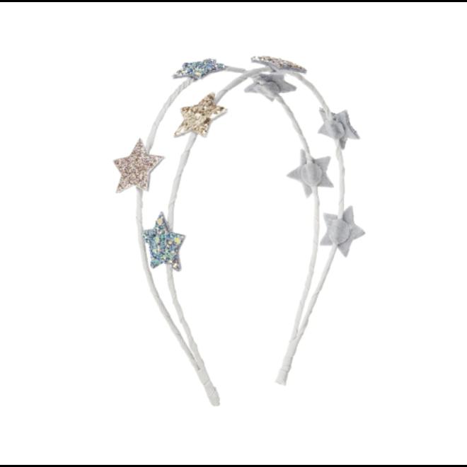 MIMI&LULA - Haarband - Starlight Alice Metallic