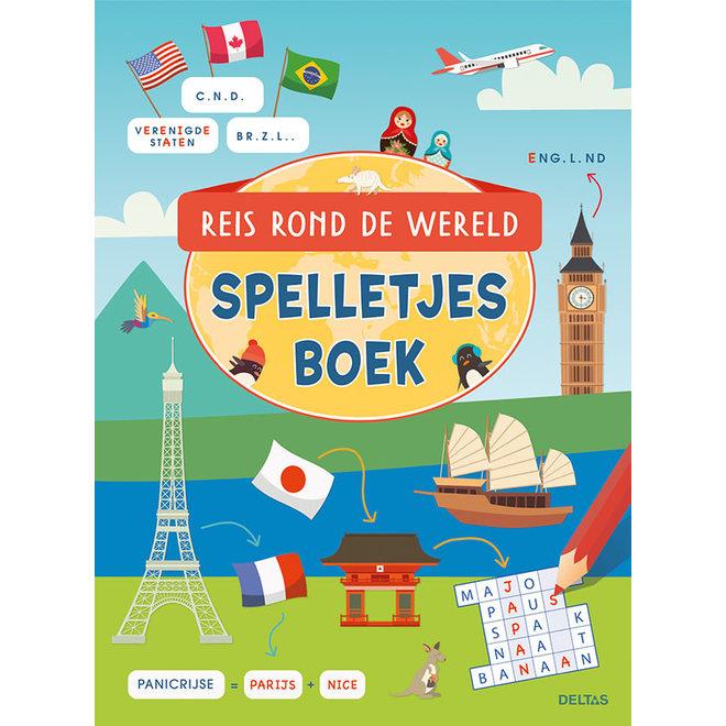 DELTAS - Spelletjesboek - Reis rond de wereld