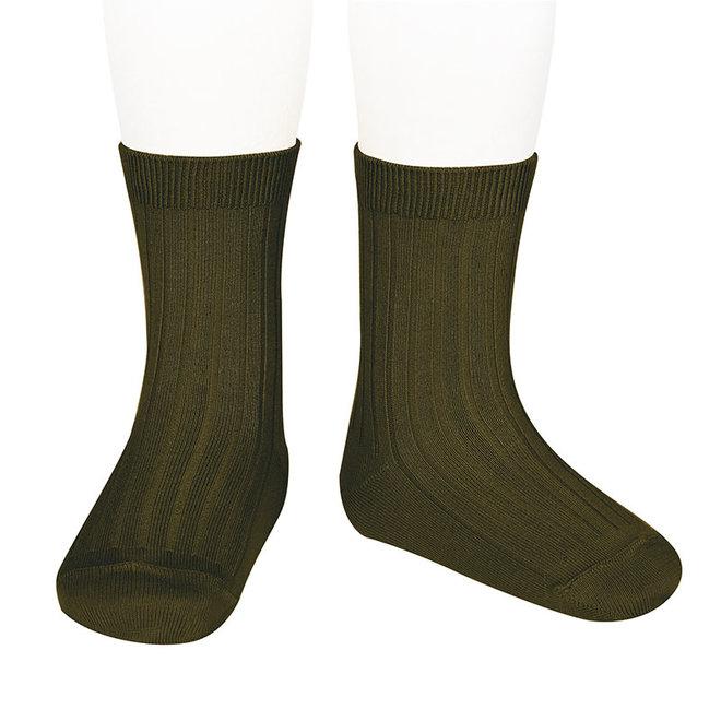 CONDOR - Korte Sokken - Seaweed (742)