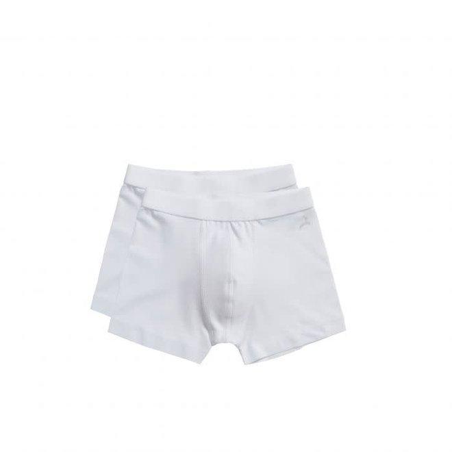 TEN CATE - Onderbroek Boys - Shorts (2Pack) Wit (Maat 86 tot 116)