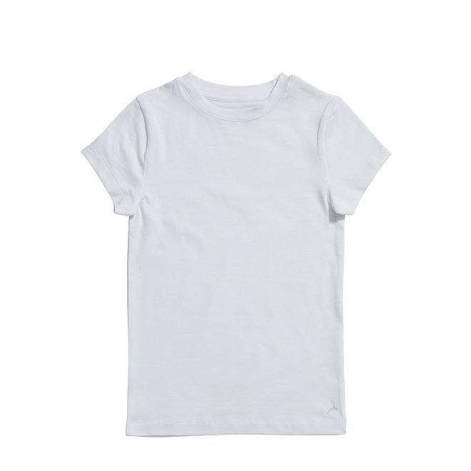 TEN CATE - T-shirt Unisex - Wit (Maat 122 tem 152)