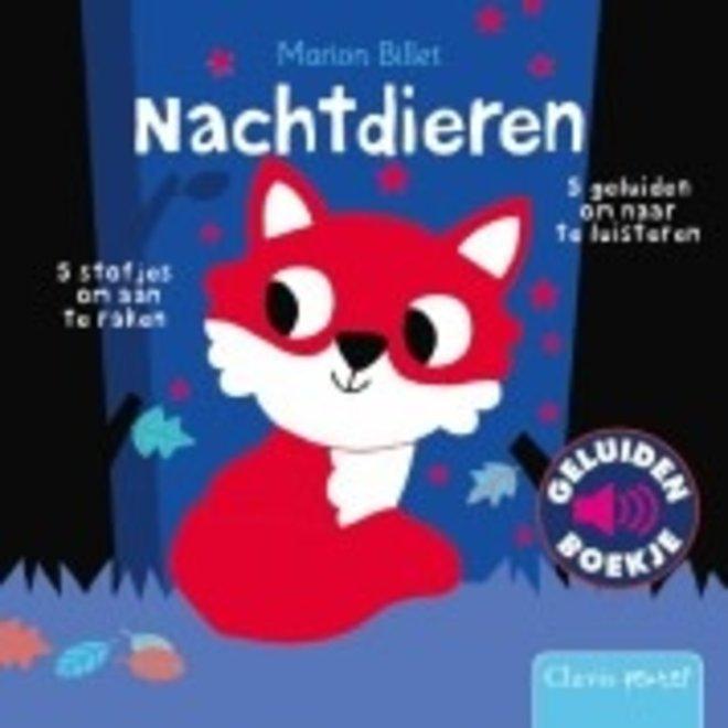 CLAVIS - Geluid- &Voelboek - Nachtdieren