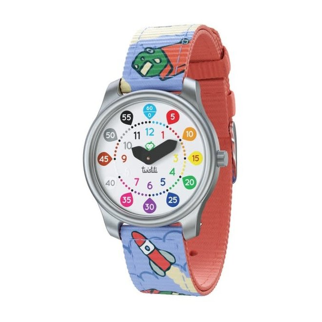TWISTITI - Educatieve Horloge - Clouds 6+