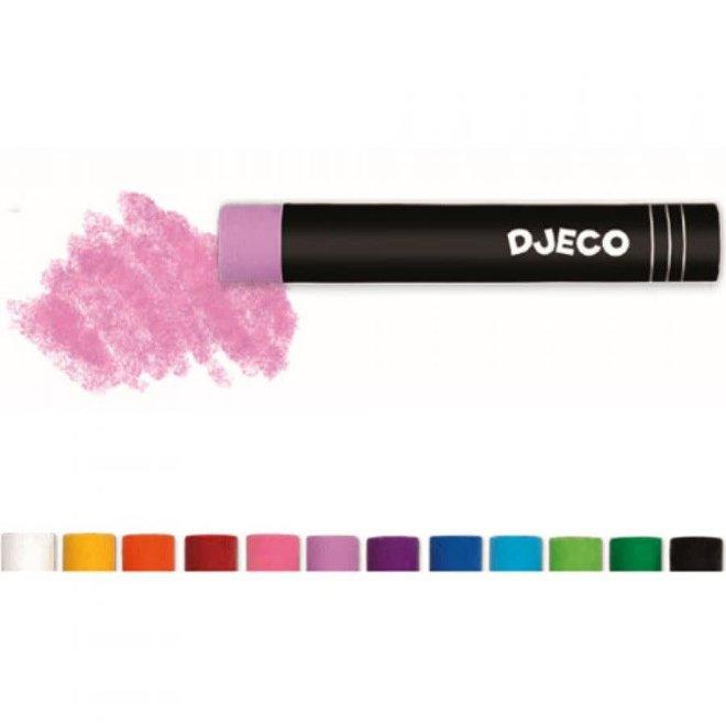 DJECO - Olieverfkrijtjes - Pastel