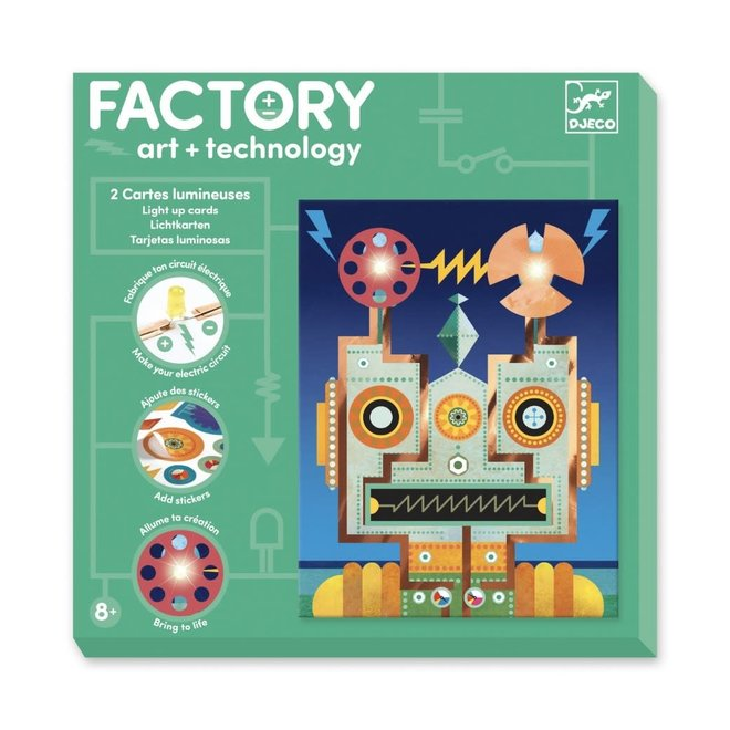 DJECO - Factory - Cyborgs 8+