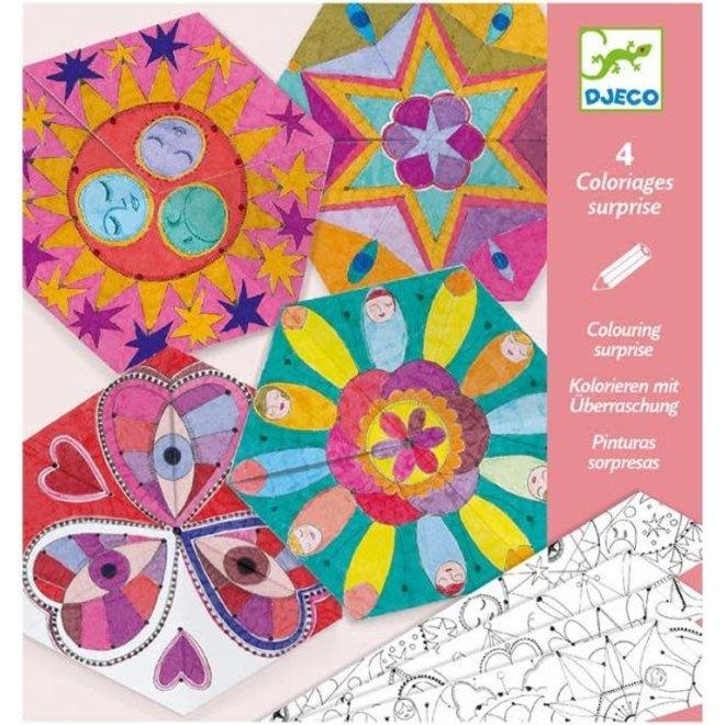 DJECO - Kleuren - Sterrenbeelden Mandala's