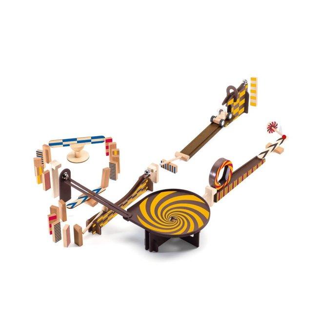 DJECO - Zig&Go - Domino Set (45stuks) 8+