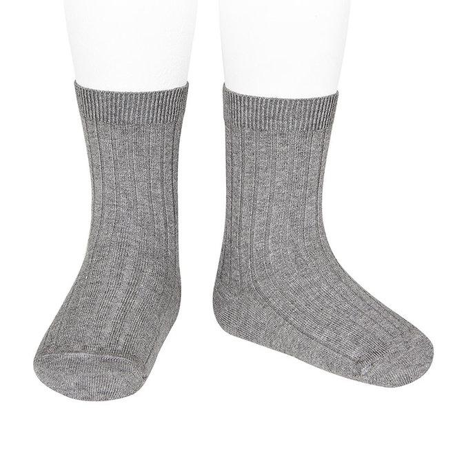 CONDOR - Korte Sokken - Light Grey (230)
