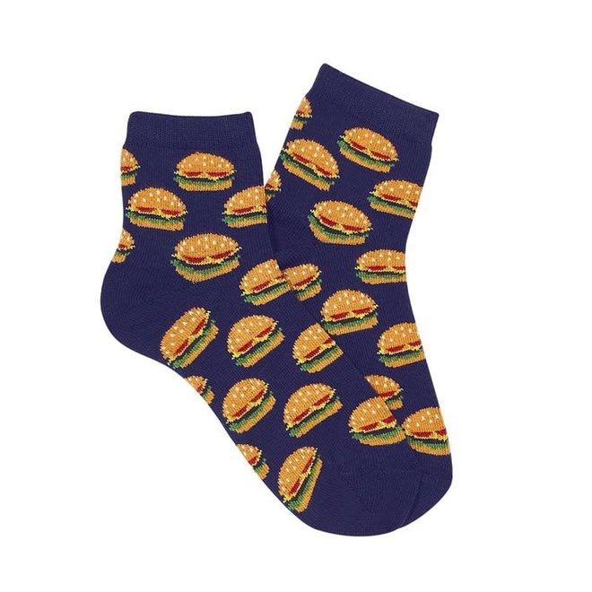 CONDOR - Korte Sokken - Navy Blue Burgers (480)