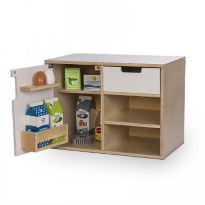BY ASTRUP - Keukenkast met koelkast