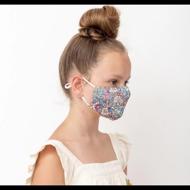 MIMI&LULA - Mondmasker - Flowers Kind (3/10jaar)