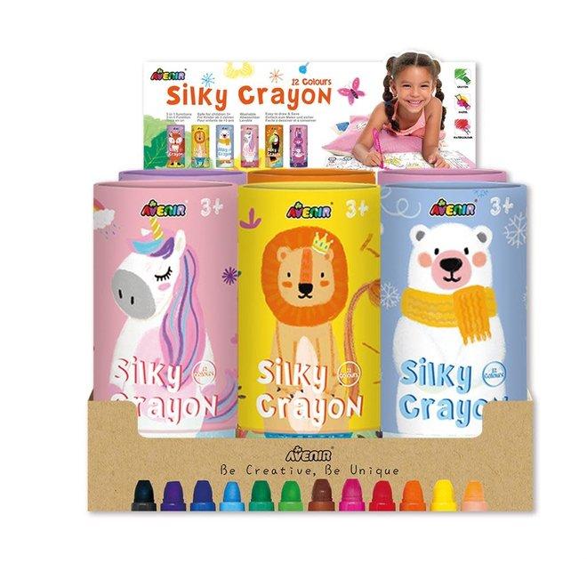 AVENIR - Kleurpotloden - Silky Crayons (12stuks/Box)
